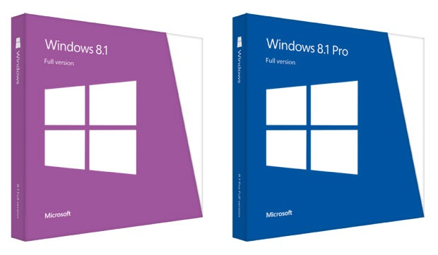 Windows 8.1 und 8.1 Pro