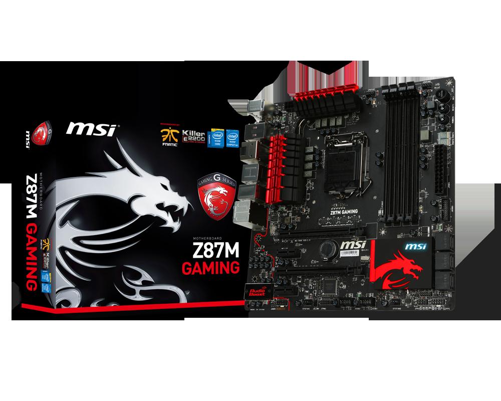 MSI Motherboard Z87M GAMING