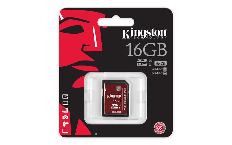 Kingston SD-Karte Verpackung