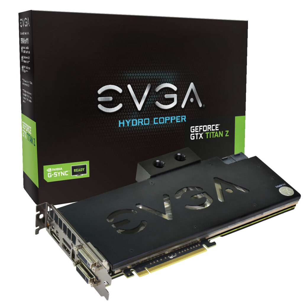 EVGA GeForce GTX TITAN Z Hydro Copper