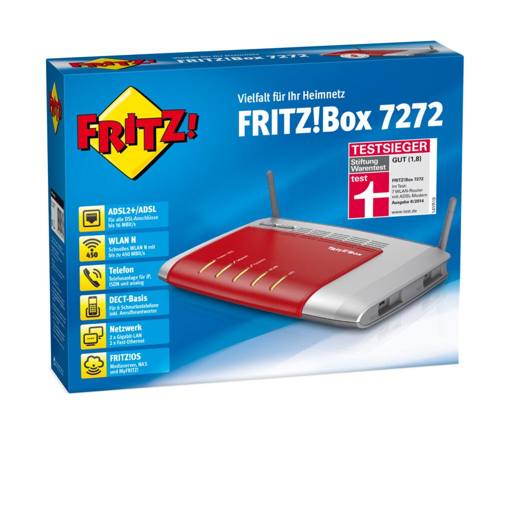 AVM-FRITZ!Box 7272-Verpackung