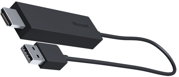 Microsoft competing Chromecast with its Wireless Display Adapter