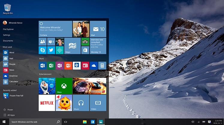 windows 10--