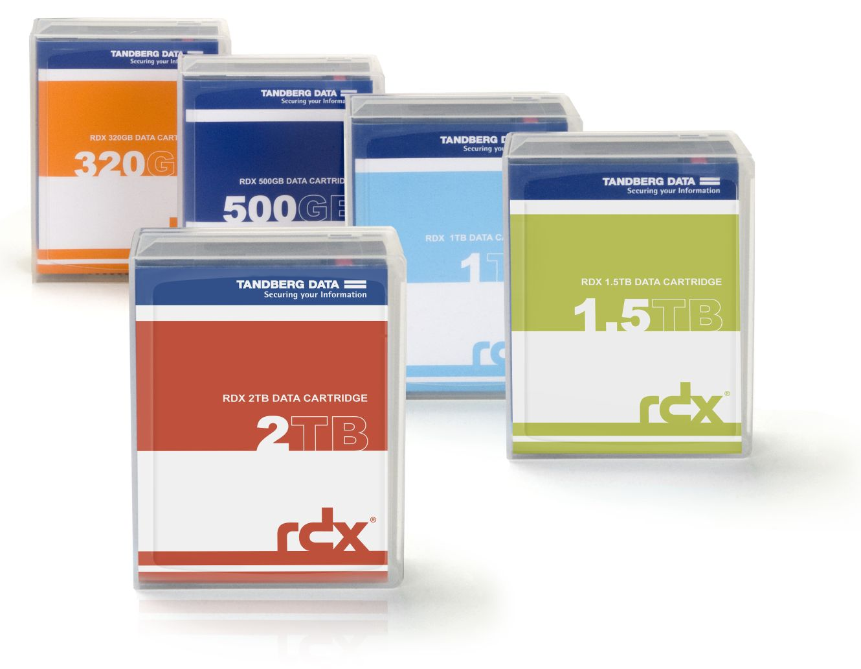 Tandberg-RDX-HDD-speichermedien