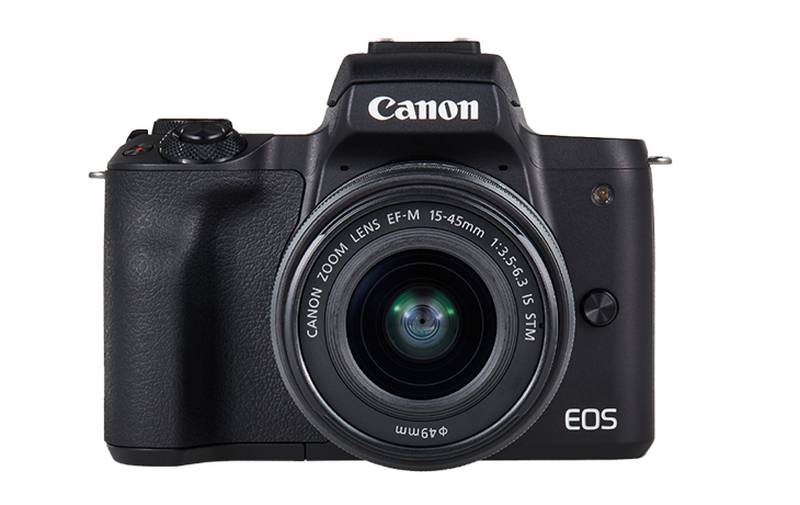 EOS M50 frontal