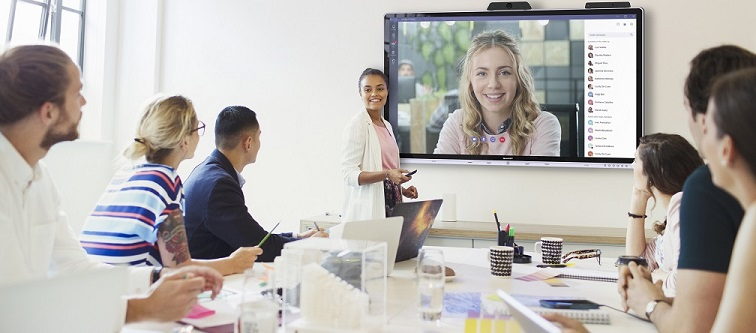 Windows Collaboration Display von Sharp